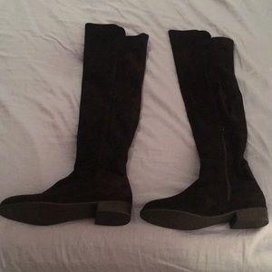 Stuart Weitzman Black flat boots